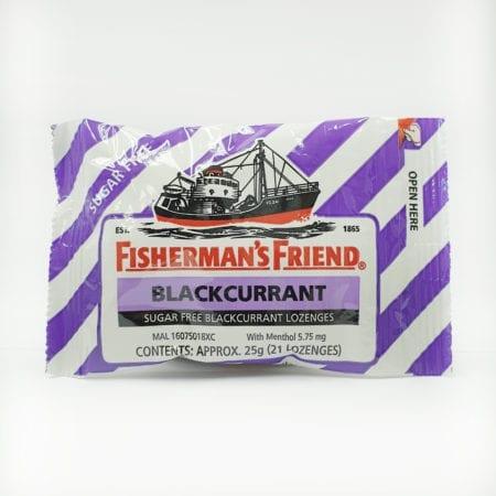 Fishermans Friend Sugar Free Blackcurrant 25g 1s