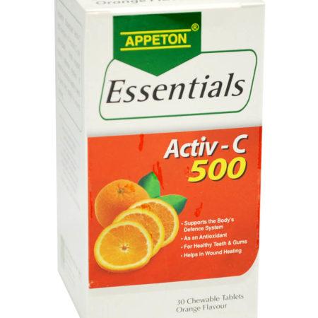 Appeton Ess. Activ-c 500 Orange 30s