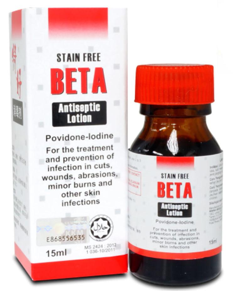 Beta Antiseptic Lotion