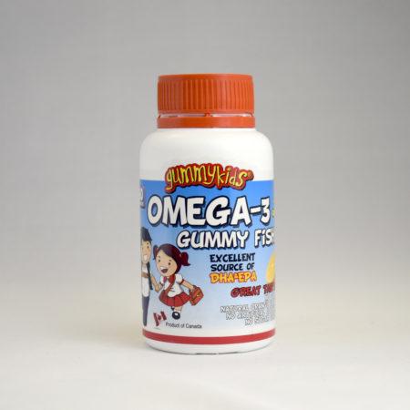 GummyKids Omega-3 Gummy Fish 60S