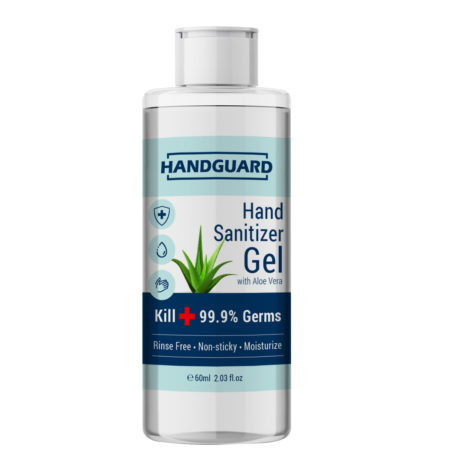 HANDGUARD HAND SANITIZER GEL 60ML