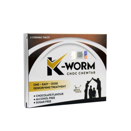 K-Worm Choc Chewtab 2S