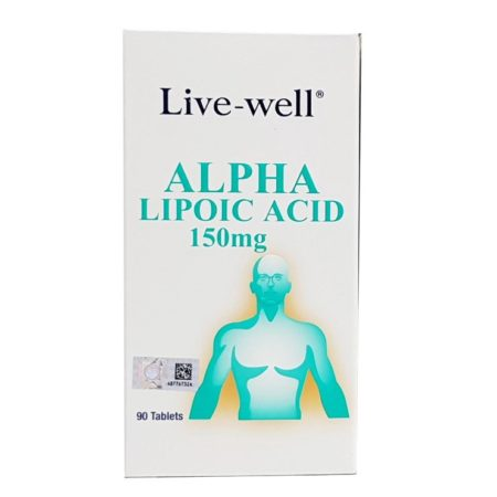 LIVE-WELL ALPHA LIPOIC ACID 150MG 90S {04/2021}