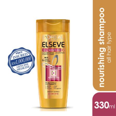 Loreal Elseve 6 Oil Nourish Shampoo 330ml
