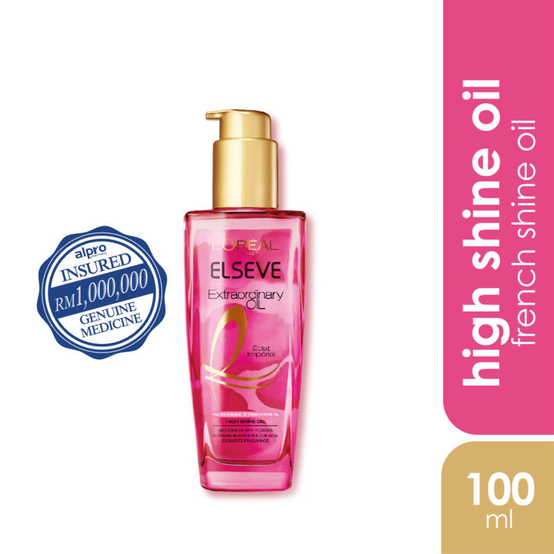 Loreal Extraordinary Extra Oil Pink 100ml