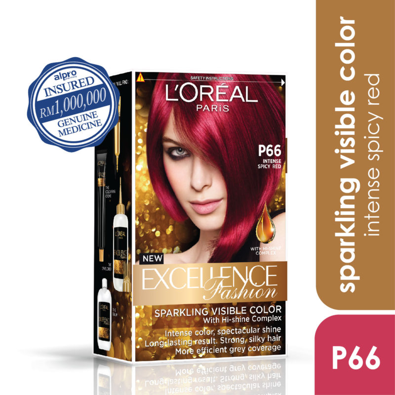 Loreal New Excellence Fashion Color P66