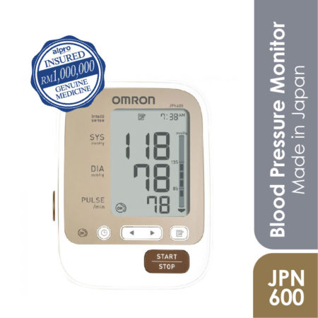 Omron Automatic Blood Pressure Monitor Jpn 600 Deluxe