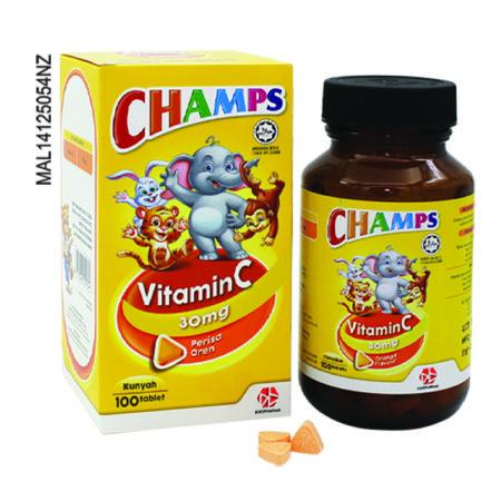 (S)Champs C 30Mg Orange 100S ( Expired : Mar- 21)