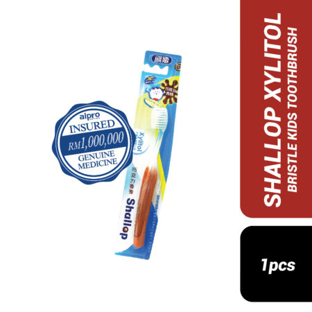 Shallop Xylitol Bristle Kids Toothbrush S-335-3s