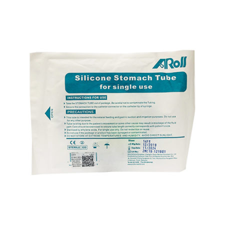 Silicone Ryles Tube (stomach Tube For Single Use) Size 14fr 1s