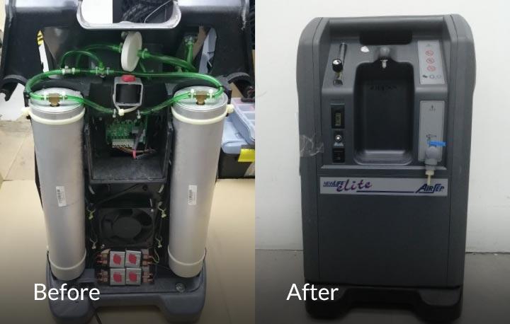 Silvercare Popup Repair