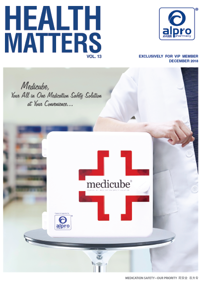 Vol 8. 2016 Medication Safety Our Priority