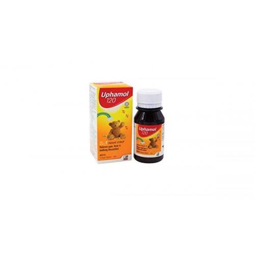 Uphamol Infant Syrup 120mg 60ml