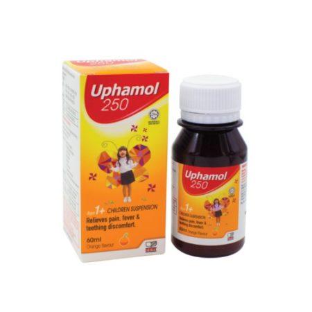 Uphamol Children Suspension 250mg 60ml