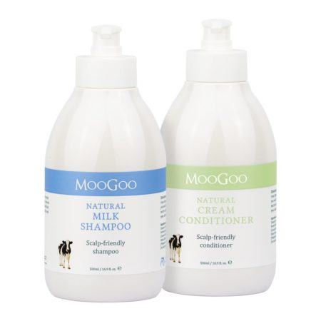 Moogoo Hair Care Value Pack (shampoo+conditional)