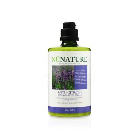 Nunature Anti-stress Bathshower Cream 450ml