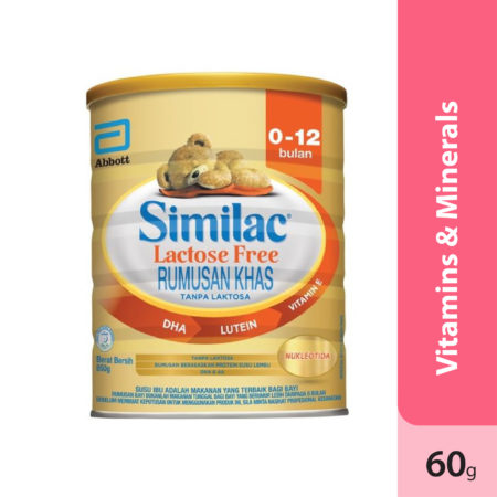 Abbott Similac Gold Lactose Free 0-12 Month 850g