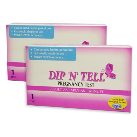 Dip N Tell Pregnancy Test Kit 1s