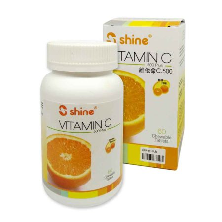 Shine Vit.c-500mg 60s