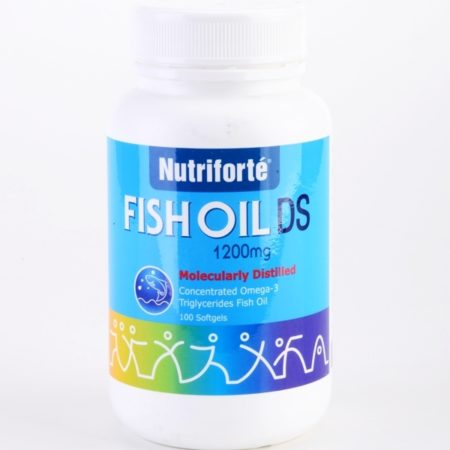 Nutriforte Fish Oil Ds 1200mg 100s