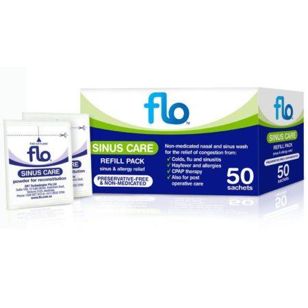 Flo Sinus Care Refill Sachet 50s