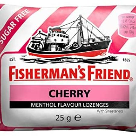Fishermans Friend Sugar Free Cherry 24x25g