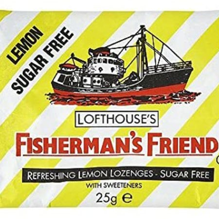 Fishermans Friend Sugar Free Lemon Lozenges 24x25g