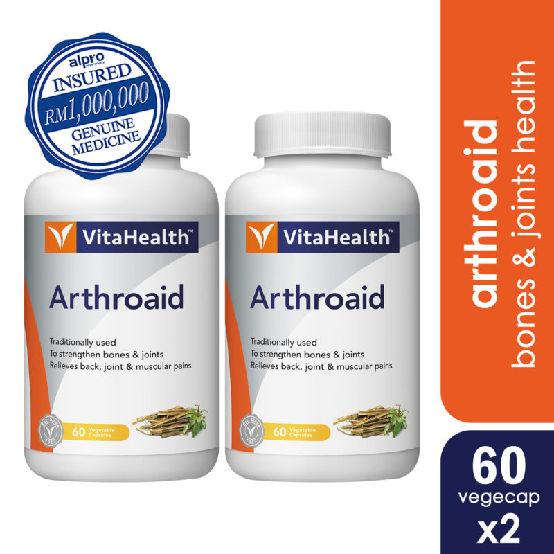 Vitahealth Arthroaid 2x60s