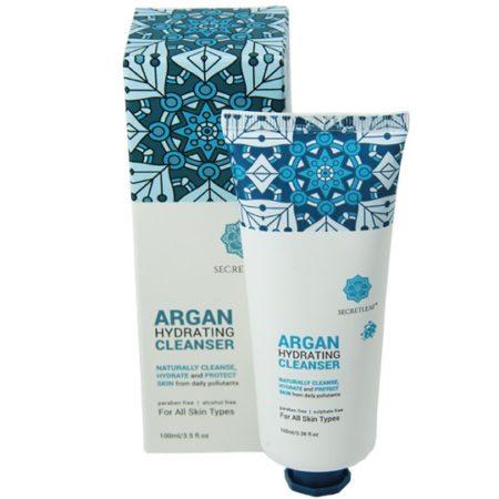 Secretleaf Argan Hydrating Cleanser 100ml