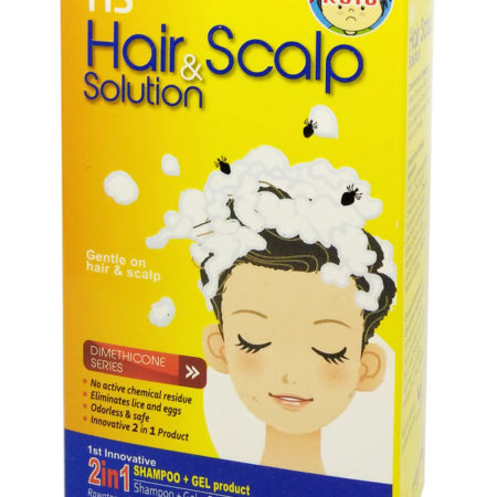 Hs Hair & Scalp Solution 2 In 1 2x50ml