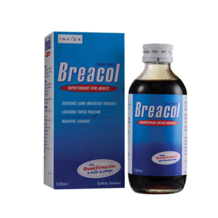 Breacol Syrup Adult 120ml