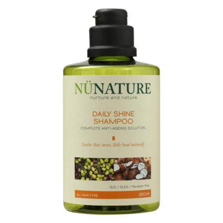 Nunature Daily Shine Shampoo 250ml