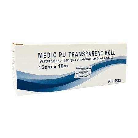 Medic Pu Transparent Roll 15cmx10m 1s