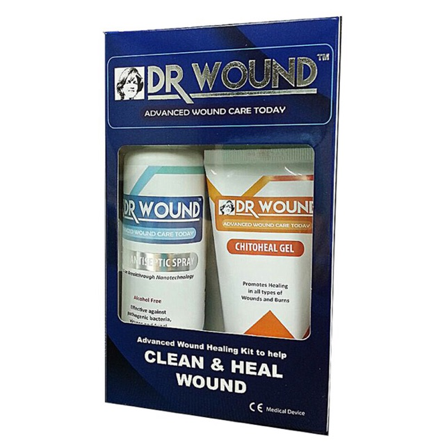 Dr Wound Pack (silvosept 100ml+chitoheal Gel 60ml)
