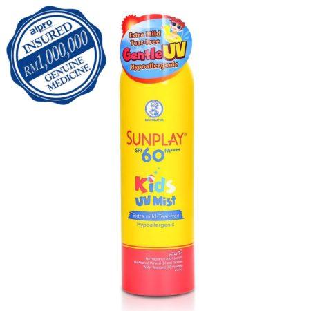 Sunplay Kids Uv Mist Spf60pa 200ml