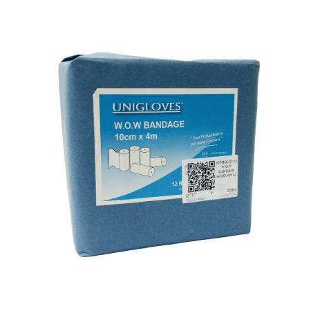 Unigloves W.o.w Bandage 10cmx4m 12s
