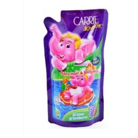 Carrie Junior Hair &body Wash Groovy Grapeberry 500g X 2