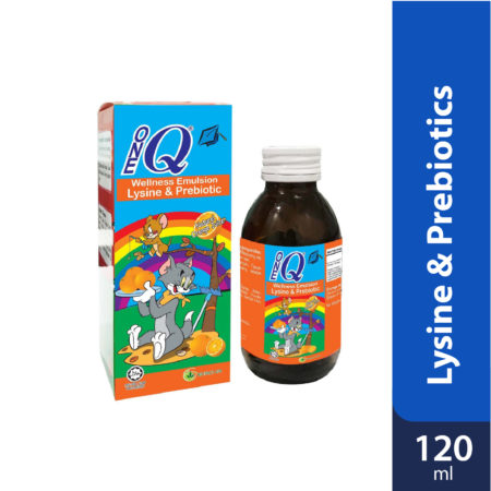 1q Wellness Emulsion With Lysine & Prebiotic 120ml