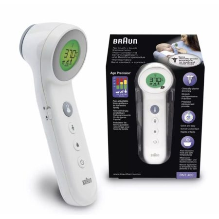 Braun No Touch + Forehead Thermometer (bnt400)