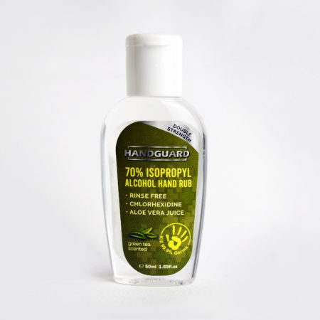 Handguard 70% Isopropyl Alcohol Hand Rub 50ml