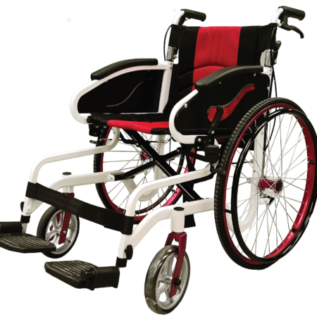 Moven Supreme Light 24 Inch Wheelchair BA997LFH