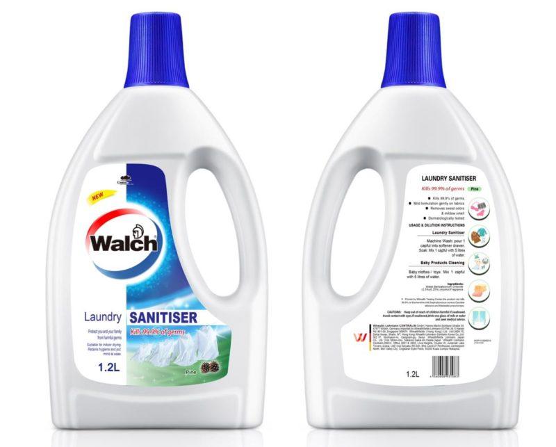 Walch Laundry Sanitizer Pine 1.2l