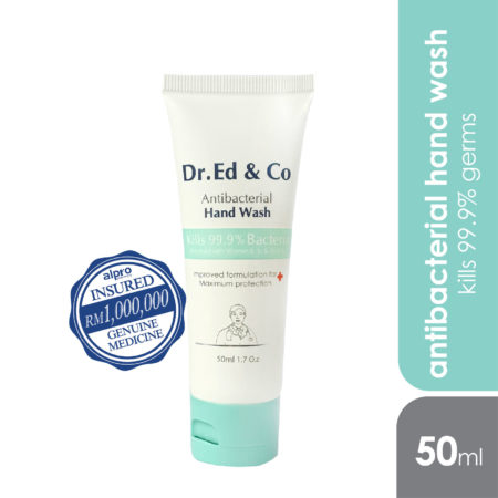 Dr.ed & Co Anti Bacterial Hand Wash 50ml