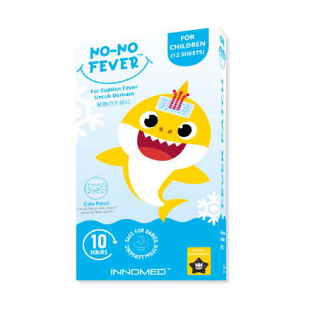 InnoMed Baby Shark No-No Fever Patch (Children) 6x2's