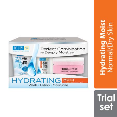 Hada Labo Hydrating 123 Trial Set (moist)