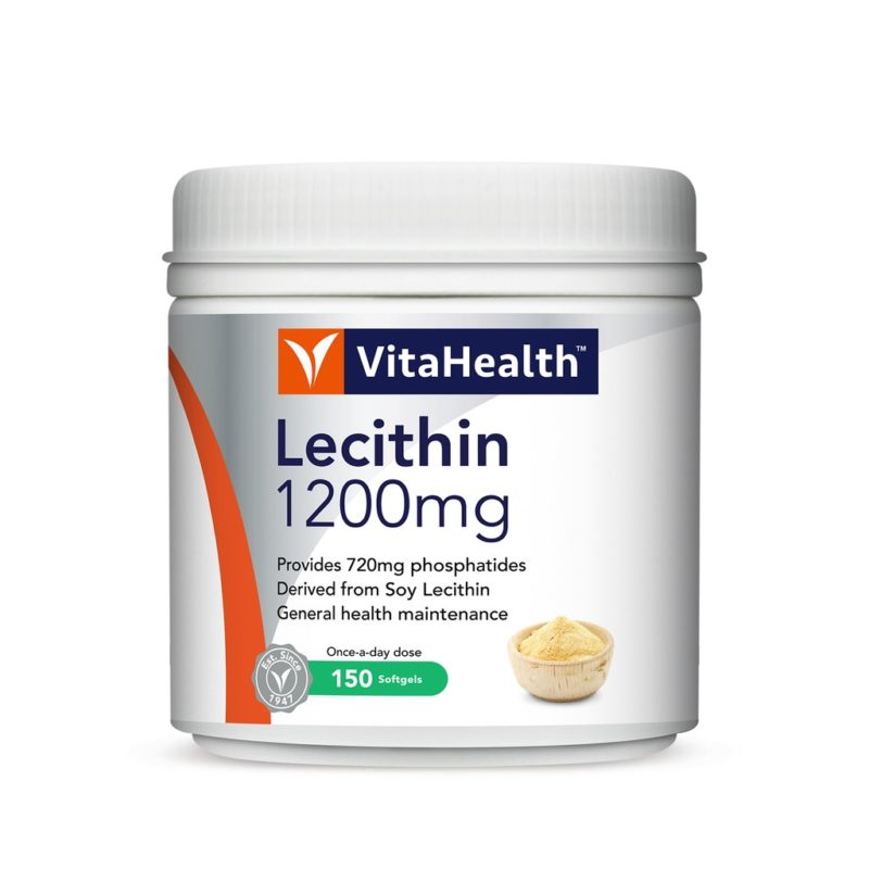 Vitahealth Lecithin 1200mg 2x150s