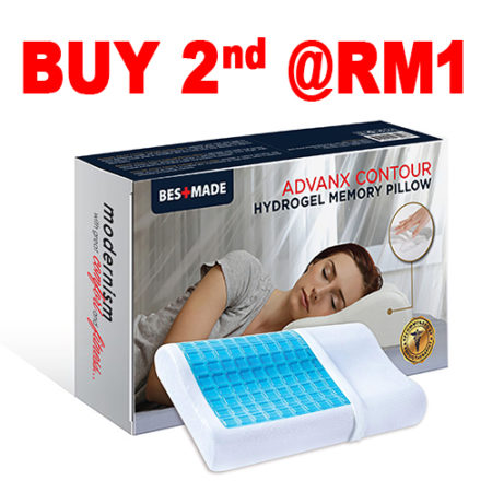 [8.8] Bestmade Advanx Contour Hydrogel Memory Pillow (Twin Pack)