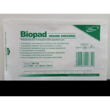 Biopad Wound Dressing 9cmx10cm 50s