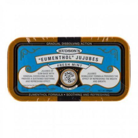 Hudsons Eumenthol Jujubes Fresh Mint 50g