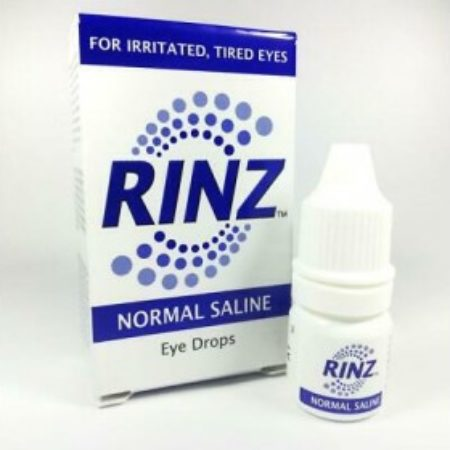 Rinz Normal Saline Eye Drops 5ml